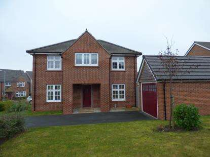 4 Bedrooms Detached House for sale in Fairwood Drive, Gwersyllt, Wrexham, Wrecsam, LL11