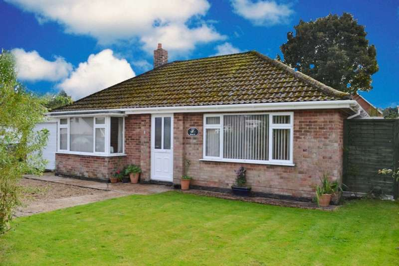 2 Bedrooms Detached Bungalow for sale in Northfield Road, Swaffham, PE37 7JB.