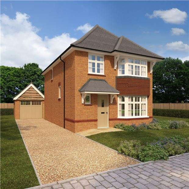 4 Bedrooms Detached House for sale in The Stratford, Wendlescliffe, Evesham Rd, Bishops Cleeve, CHELT, GL52 8SA