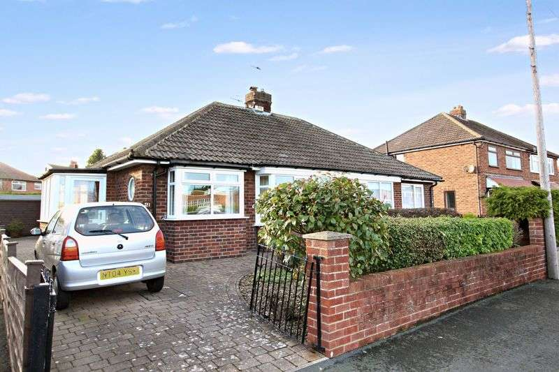 2 Bedrooms Semi Detached Bungalow for sale in Fieldstead Crescent, Scarborough