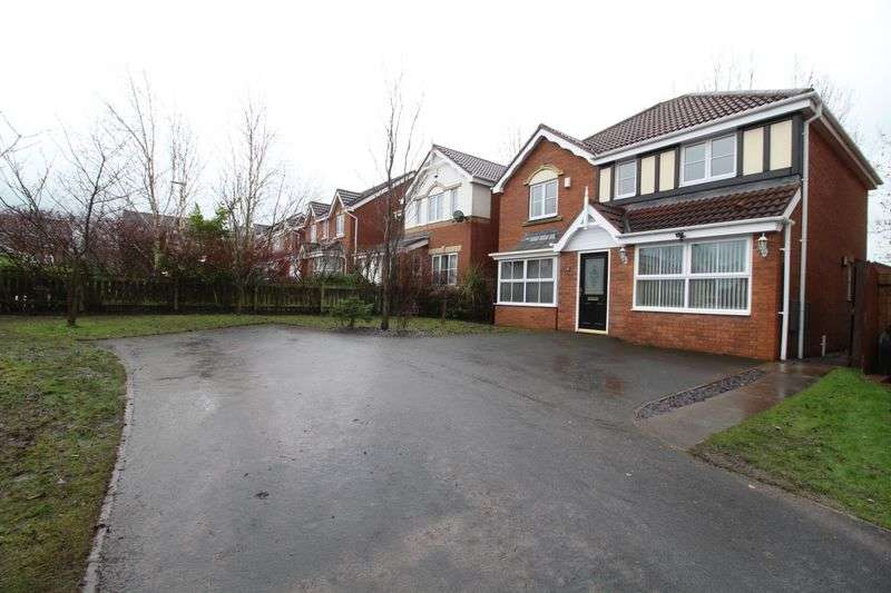 4 Bedrooms Detached House for sale in Dunkeld Close, Gateshead