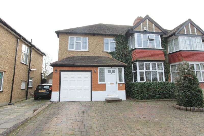 5 Bedrooms Semi Detached House for sale in Newbolt Avenue, Cheam