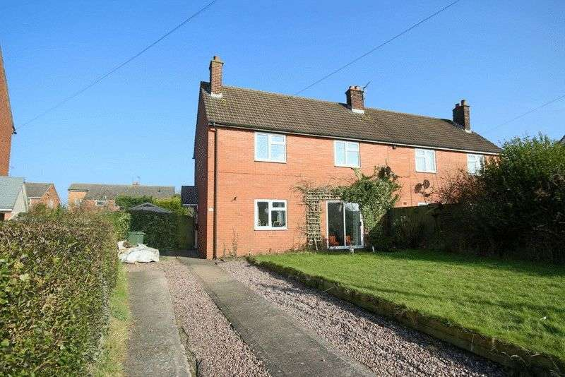 3 Bedrooms Semi Detached House for sale in High Offley Road, Woodseaves, Stafford
