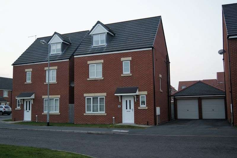 4 Bedrooms Detached House for sale in Blackhaugh Drive, Seaton Delaval