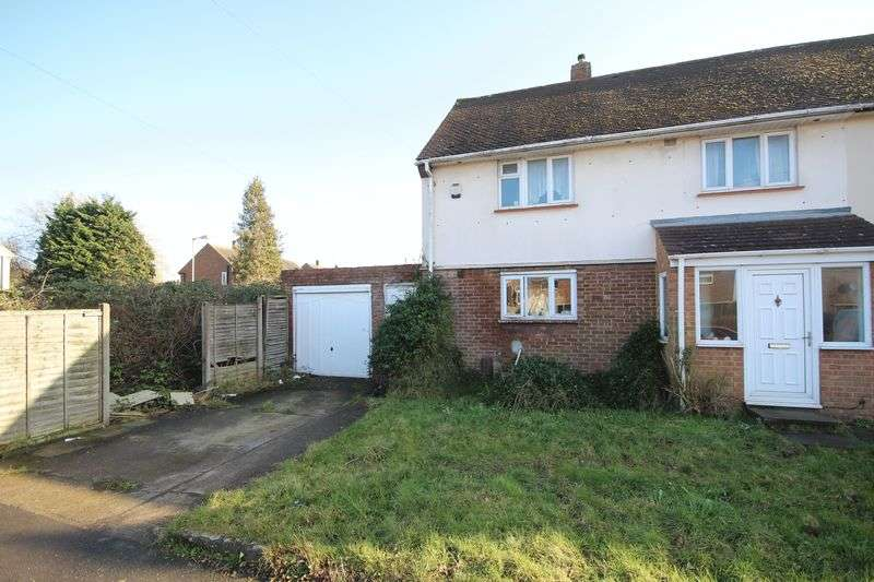 3 Bedrooms Semi Detached House for sale in Longcroft Road, Luton