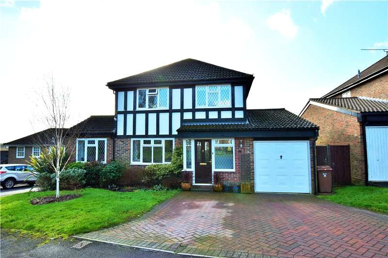 4 Bedrooms Detached House for sale in Melksham Close, Lower Earley, Reading, Berkshire, RG6