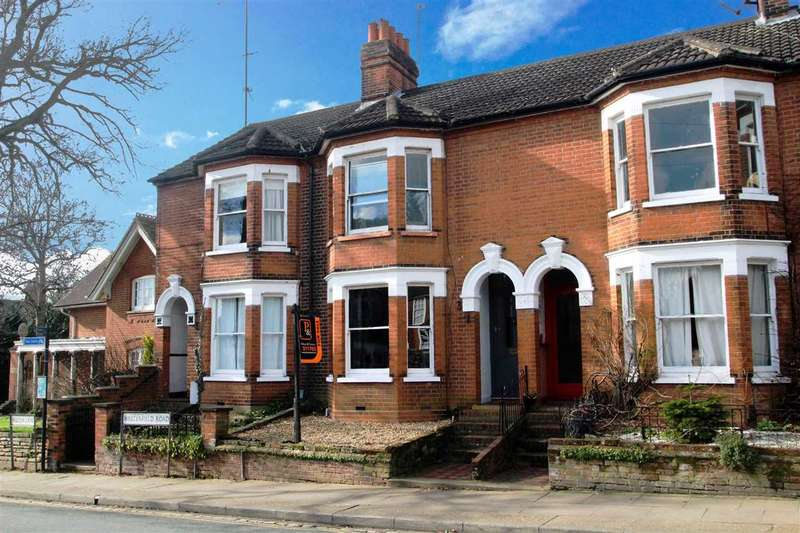 3 Bedrooms Terraced House for sale in Westerfield Road, Ipswich