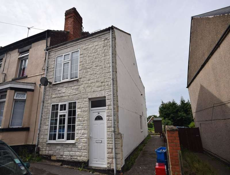 2 Bedrooms Property for sale in Fishers Street, Kirkby-In-Ashfield, Nottingham, NG17