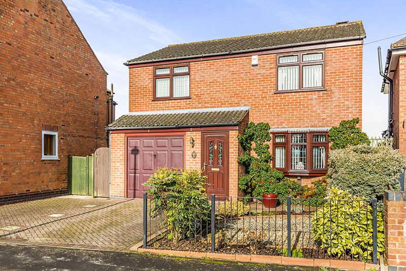 3 Bedrooms Detached House for sale in Keats Lane, Earl Shilton, Leicester, LE9
