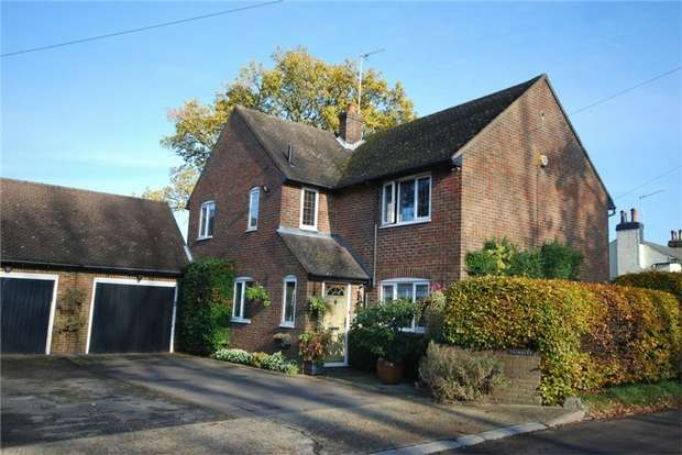 4 Bedrooms Detached House for sale in Rectory Lane, Shenley, Radlett, Hertfordshire