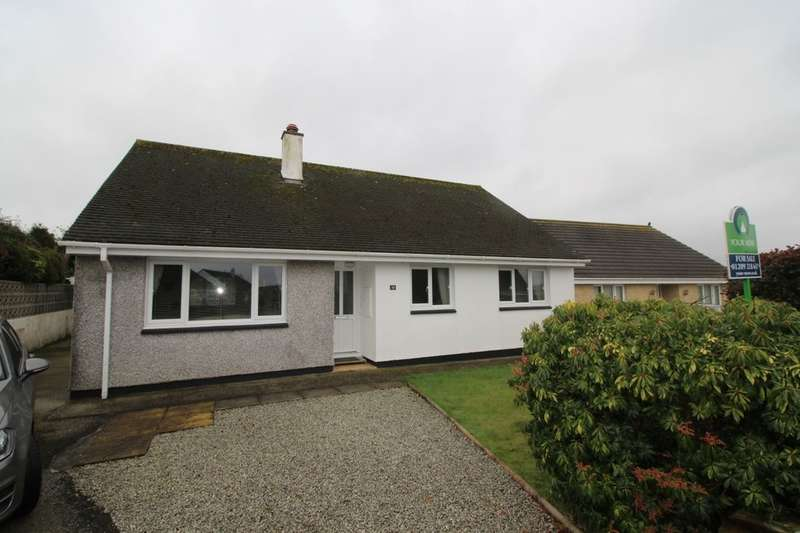 3 Bedrooms Detached Bungalow for sale in Rose Meadow, Stithians, Truro, TR3