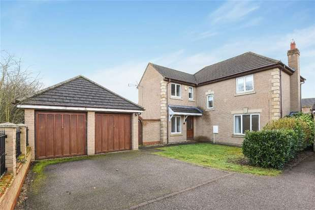 4 Bedrooms Detached House for sale in Asgard Drive, Bedford