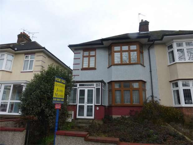 3 Bedrooms Semi Detached House for sale in Boston Gardens, Brentford, Middlesex