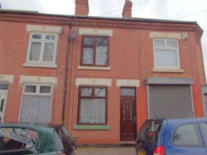 2 Bedrooms Terraced House for sale in Harrison Road, Leicester, Leicestershire