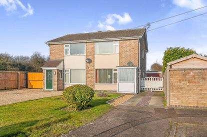 2 Bedrooms Semi Detached House for sale in Carron Drive, Werrington, Peterborough, Cambridgeshire