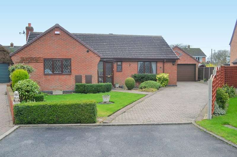 3 Bedrooms Detached Bungalow for sale in Willow Close, Fradley
