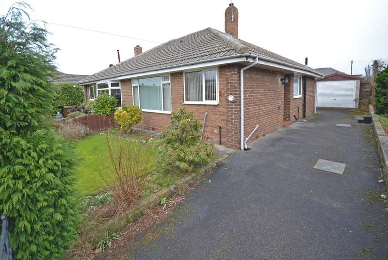 2 Bedrooms Semi Detached Bungalow for sale in Church Way, Crofton