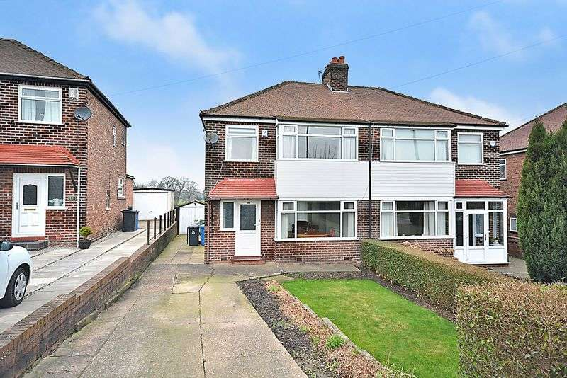 3 Bedrooms Semi Detached House for sale in Stockport Road, Thelwall, Warrington
