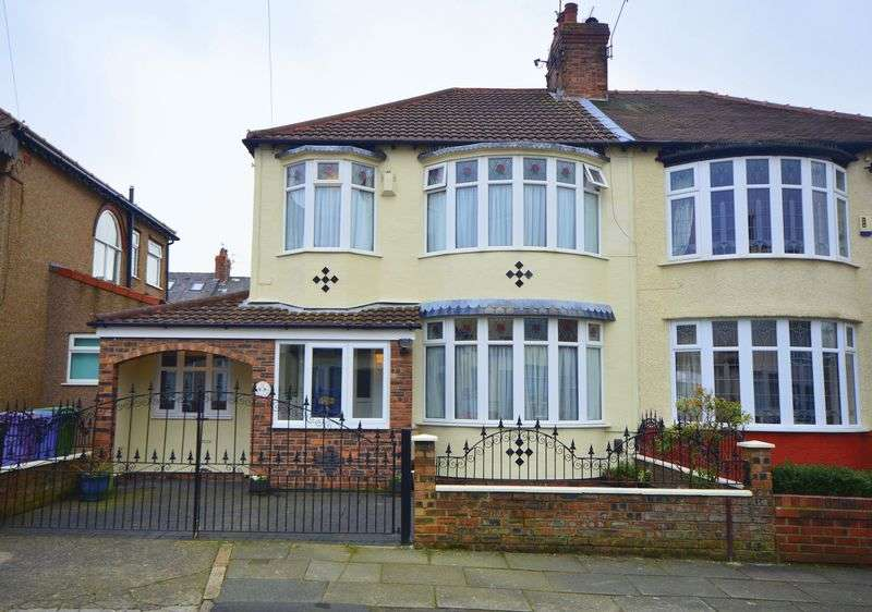 3 Bedrooms Semi Detached House for sale in Elmar Road, Aigburth Vale