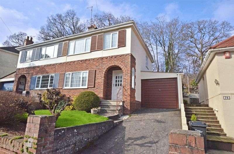 3 Bedrooms Semi Detached House for sale in Shorton Valley Road, Preston, Paignton
