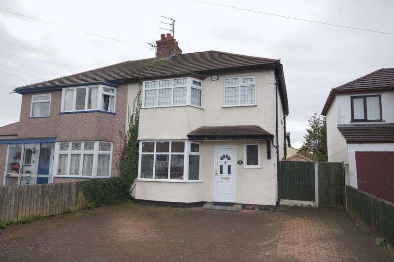 3 Bedrooms Semi Detached House for sale in Greenbank Drive, Pensby