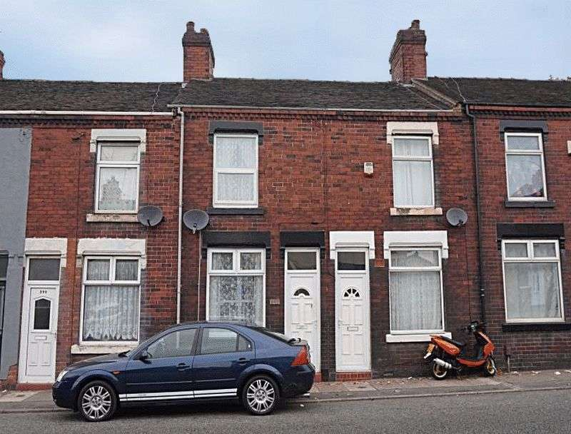 2 Bedrooms Terraced House for sale in Leek New Road, Hanley, Stoke-On-Trent, ST6 2LG