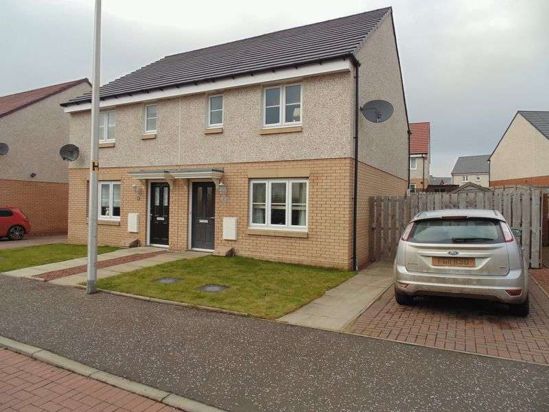 3 Bedrooms Semi Detached House for sale in Robertson Way, Motherwell