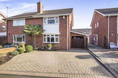3 Bedrooms Semi Detached House for sale in Henley Road, Cheltenham, Gloucestershire, England
