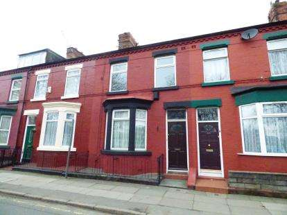 3 Bedrooms Terraced House for sale in Wellington Road, Wavertree, Liverpool, Merseyside, L15