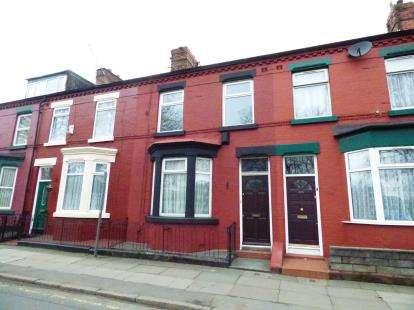 3 Bedrooms Terraced House for sale in Wellington Road, Wavertree, Liverpool, Merseyside, L15