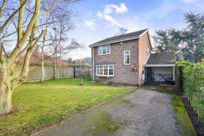 3 Bedrooms Detached House for sale in Eden Low, Mansfield Woodhouse, Mansfield, Nottingham