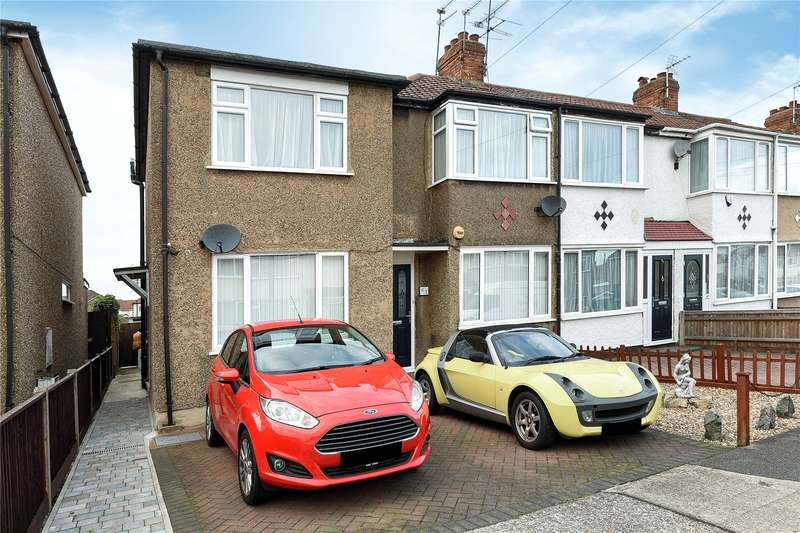 2 Bedrooms Maisonette Flat for sale in Oakleigh Road, Uxbridge, Middlesex, UB10
