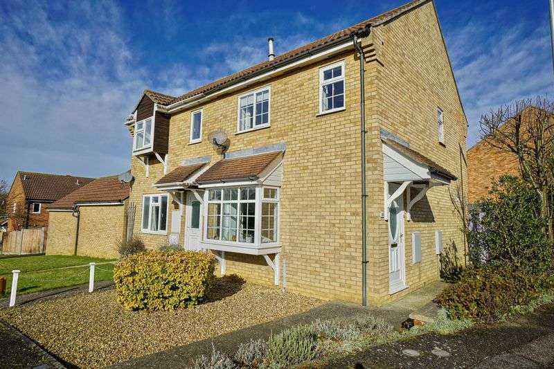 3 Bedrooms Semi Detached House for sale in Eaton Socon, St. Neots