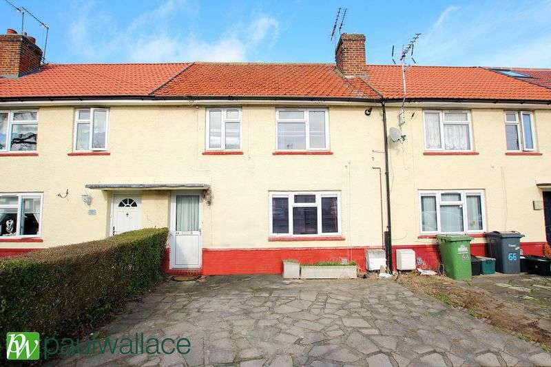 3 Bedrooms Terraced House for sale in Franklin Avenue, West Cheshunt