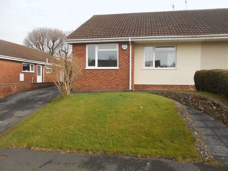 2 Bedrooms Semi Detached Bungalow for sale in Prowses, Hemyock