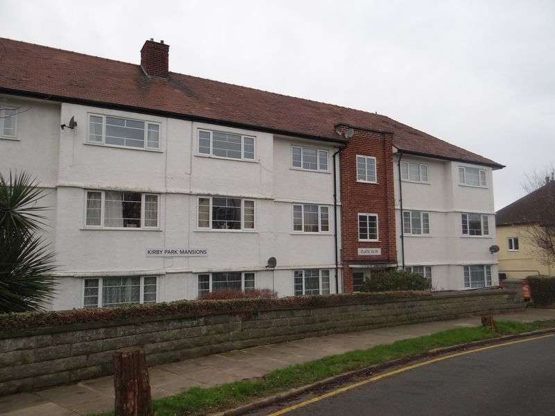 2 Bedrooms Flat for rent in Kirby Park Mansions, West Kirby