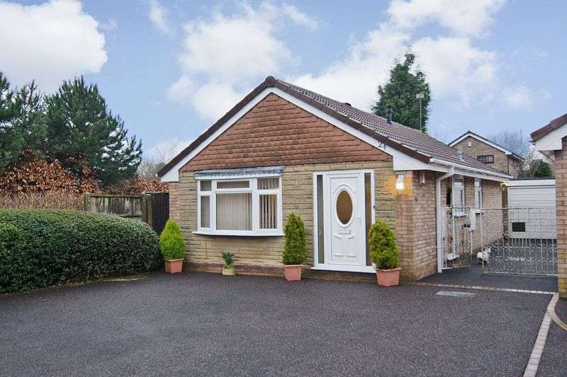 2 Bedrooms Detached Bungalow for sale in Langtree Close, Heath Hayes