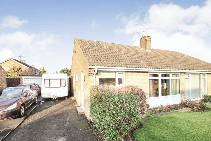 2 Bedrooms Semi Detached Bungalow for sale in Sherwood Drive, Marske