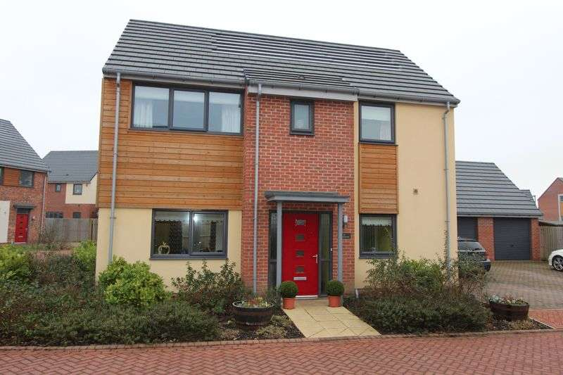3 Bedrooms Detached House for sale in Waterhouses, Elba Park, Houghton Le Spring
