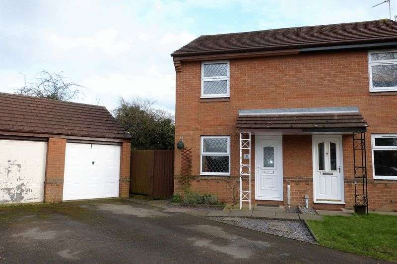 2 Bedrooms Semi Detached House for sale in Cherrybrook Close, Anstey Heights, Leicester