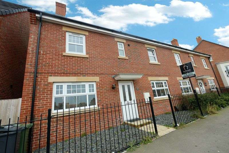 3 Bedrooms Semi Detached House for sale in SIR FRANK WILLIAMS AVENUE