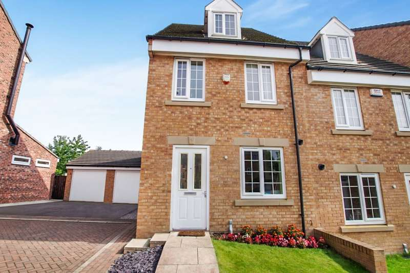 3 Bedrooms Semi Detached House for sale in Maltby Avenue, Woolley Grange, Barnsley, S75 5RY