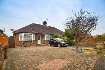 3 Bedrooms Semi Detached Bungalow for sale in Cedar Avenue, Worthing, West Sussex, BN13