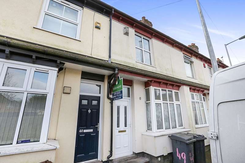 3 Bedrooms Property for sale in Granville Street, Wolverhampton, WV2