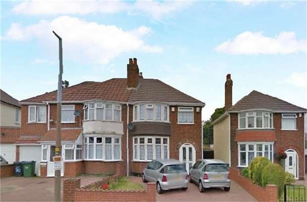 3 Bedrooms Semi Detached House for sale in Queens Drive, Rowley Regis, West Midlands