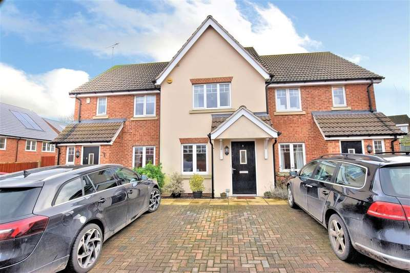 2 Bedrooms Terraced House for sale in Hilltop Gardens, Spencers Wood, Reading, RG7