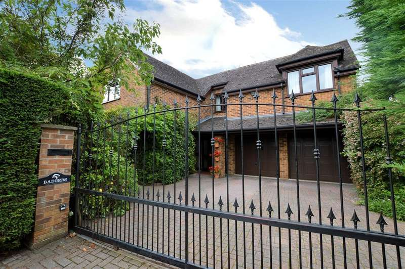 4 Bedrooms Detached House for sale in Church Lane, Burghfield Village, Reading, RG30