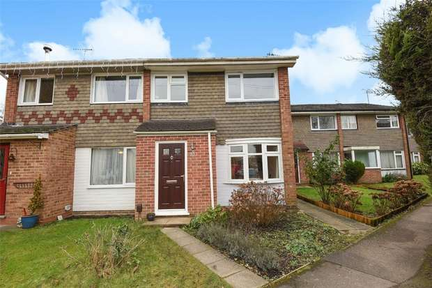 3 Bedrooms End Of Terrace House for sale in Blagrove Drive, WOKINGHAM, Berkshire