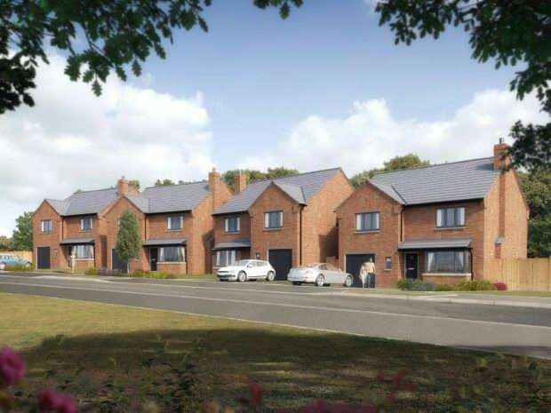 4 Bedrooms Detached House for sale in Constable Road, Hillmorton, Rugby