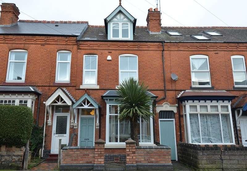 4 Bedrooms Terraced House for sale in Institute Road, Kings Heath, Birmingham